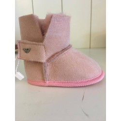 Armani baby slof roze