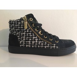 Miss Grant tweed sneaker