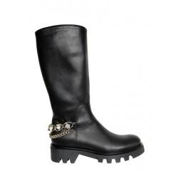 Miss Grant black strass boot