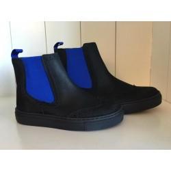 Eli sneaker blauw/zwart
