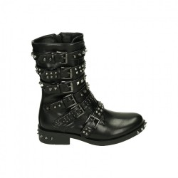 Fast Fashion biker boot spikes
