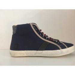 D.A.T.E. sneaker blauw