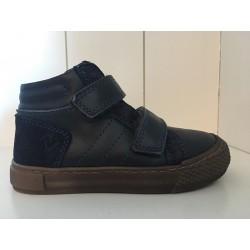 Lunella velcro sneaker blauw