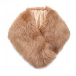 sjaal faux fur