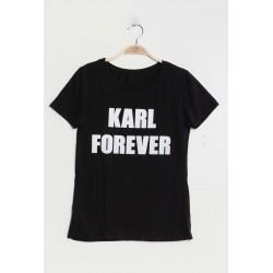 t-shirt 'Karl forever'