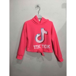 Tik Tok sweater crop