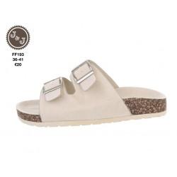 slipper beige