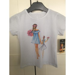 t-shirt 'blondie' kids