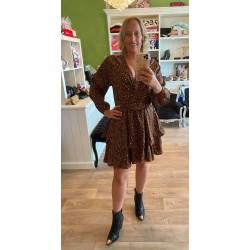 jurk brown